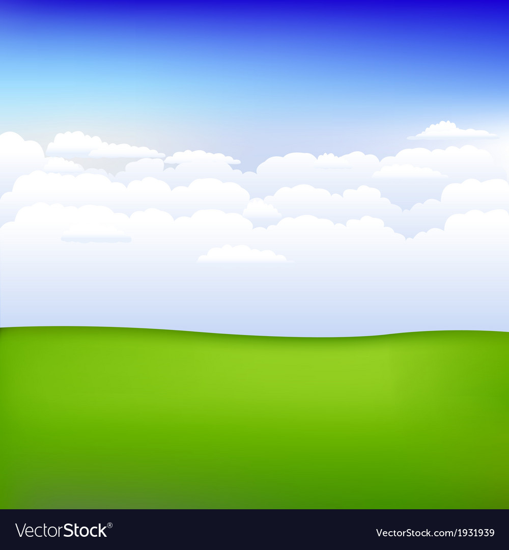 Background with landscape vector | Price: 1 Credit (USD $1)