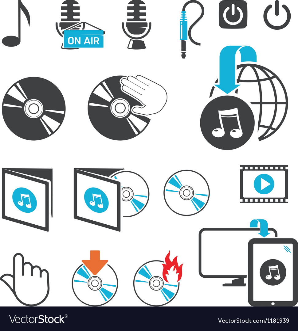 Media files vector   Price: 1 Credit (USD $1)