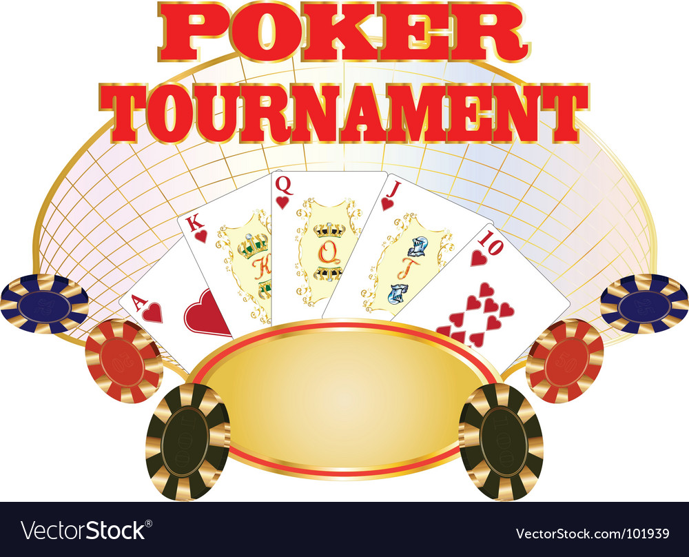 Poker tournament vector | Price: 1 Credit (USD $1)