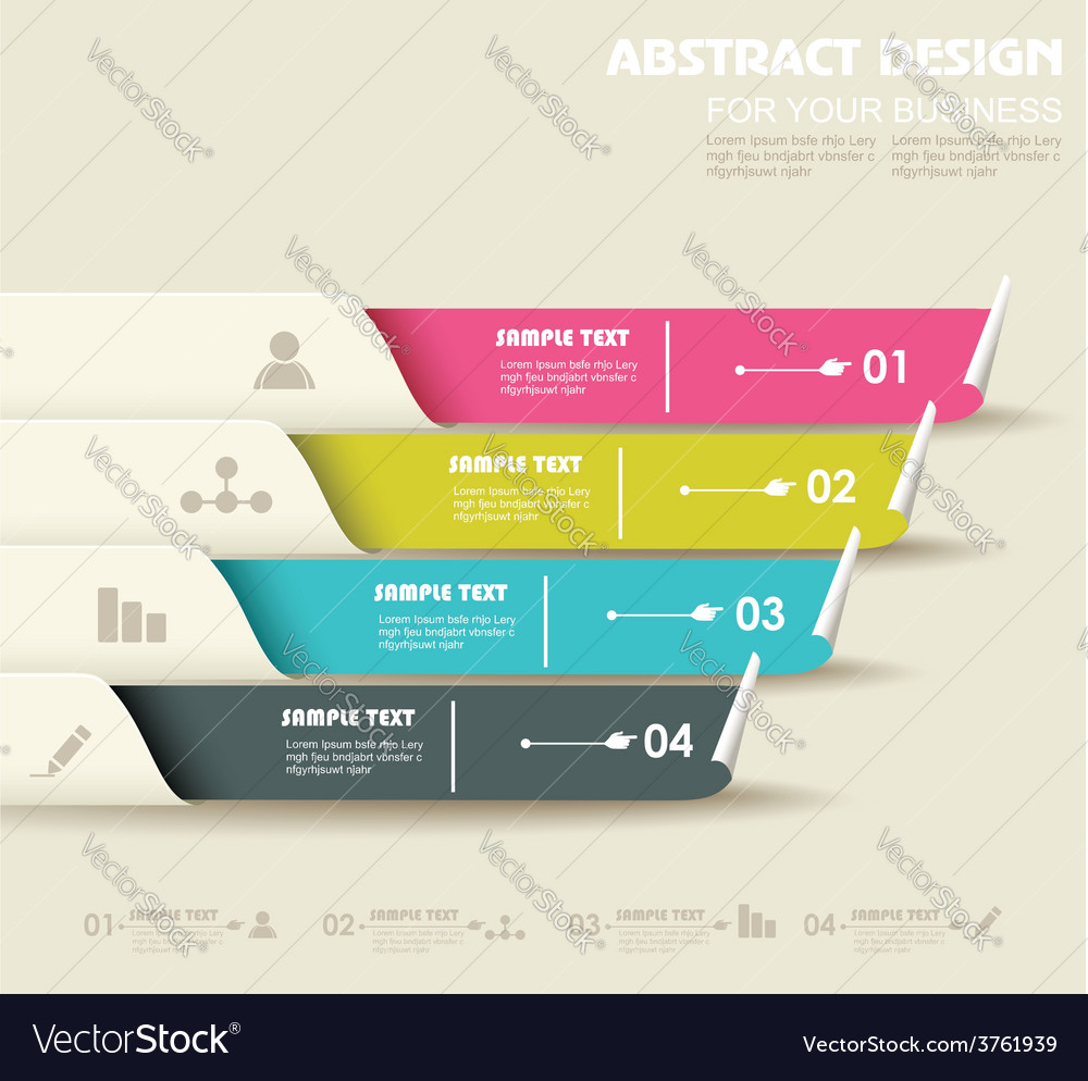 Progress banners vector | Price: 1 Credit (USD $1)