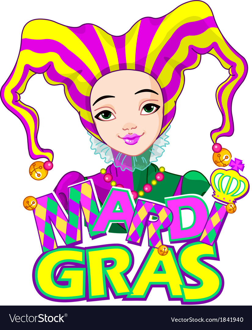 Mardi gras harlequin design vector | Price: 1 Credit (USD $1)