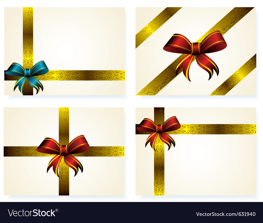 Set of yellow letters decorated golden ribbon and vector | Price: 1 Credit (USD $1)