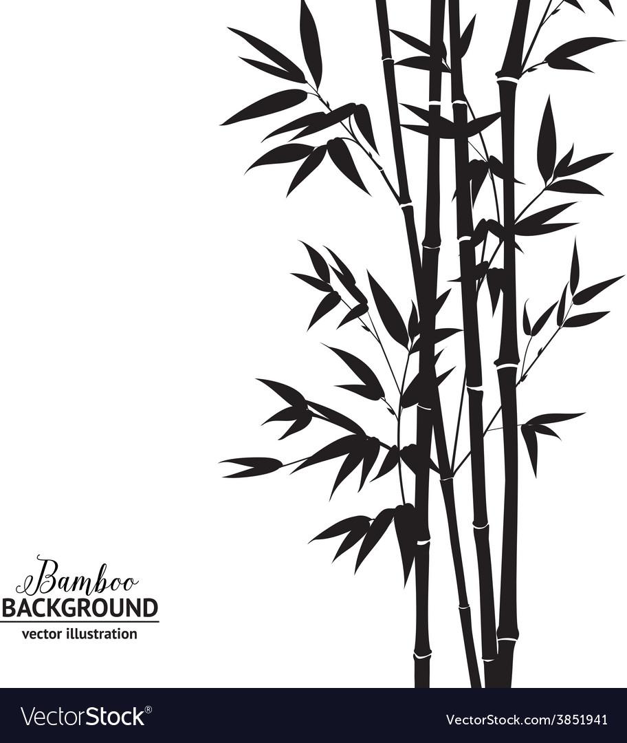 Bamboo bush vector | Price: 1 Credit (USD $1)