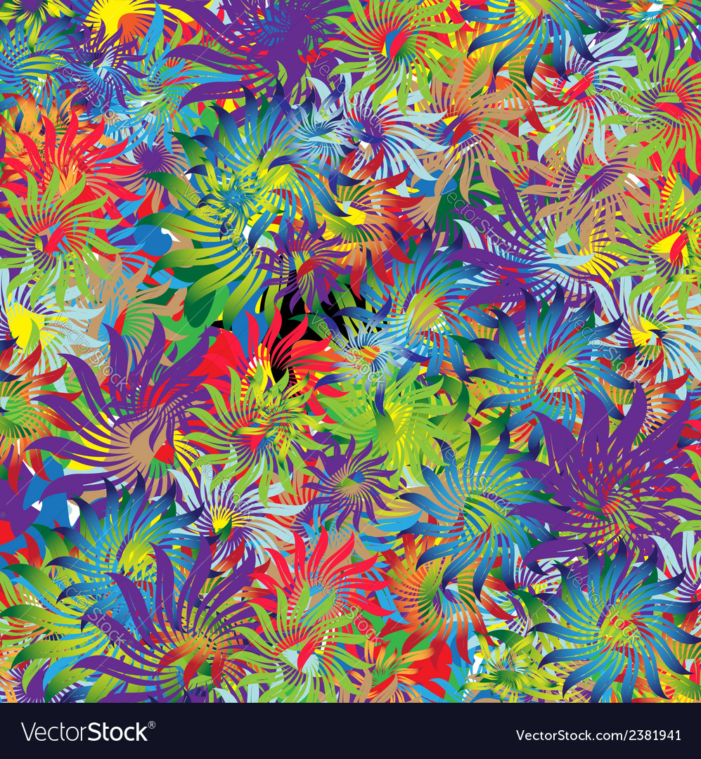 Imagination flowers vector | Price: 1 Credit (USD $1)