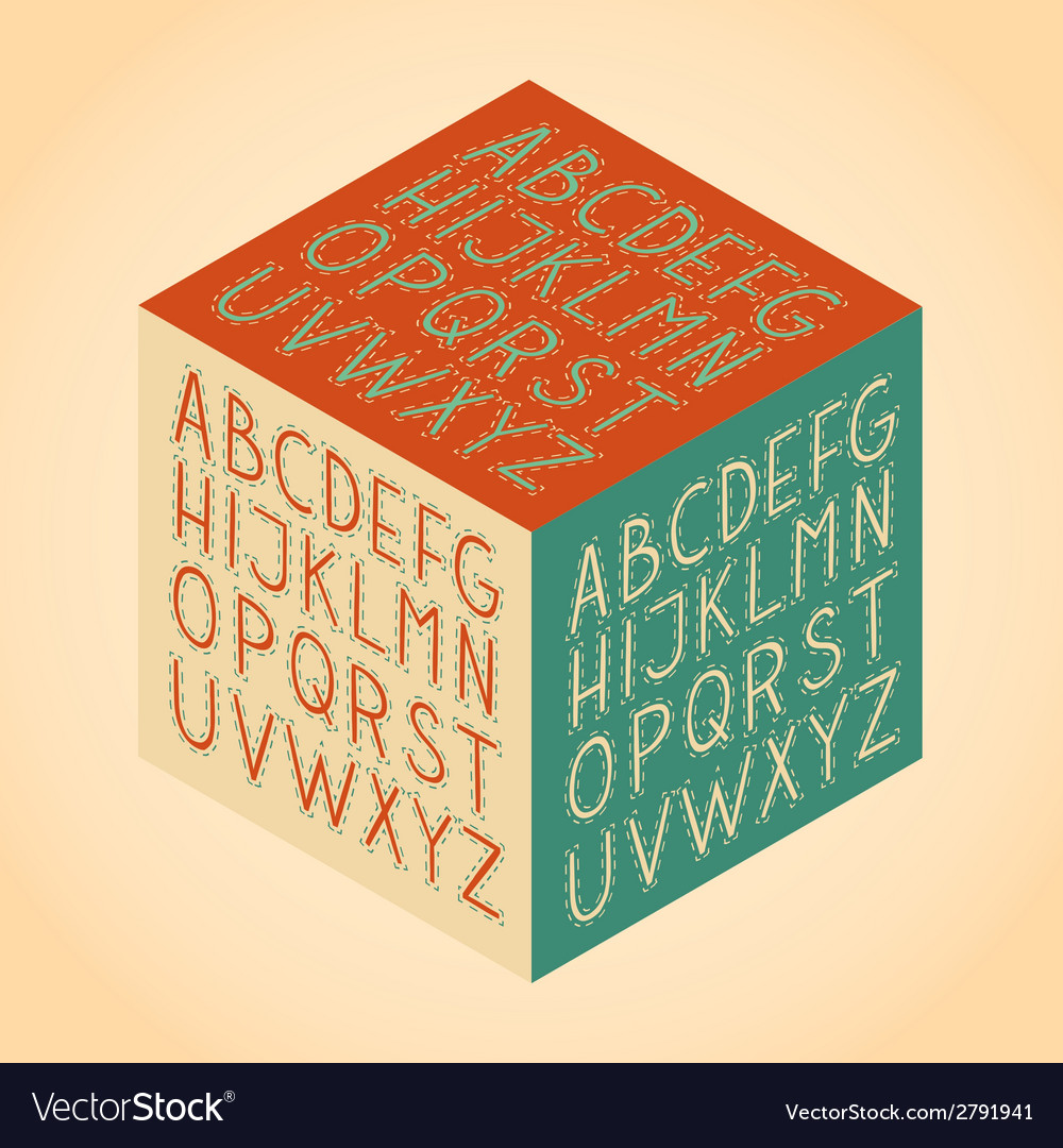 The roman alphabet vector | Price: 1 Credit (USD $1)