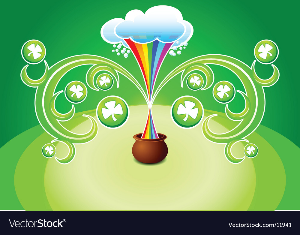 St patrick's background vector | Price: 1 Credit (USD $1)