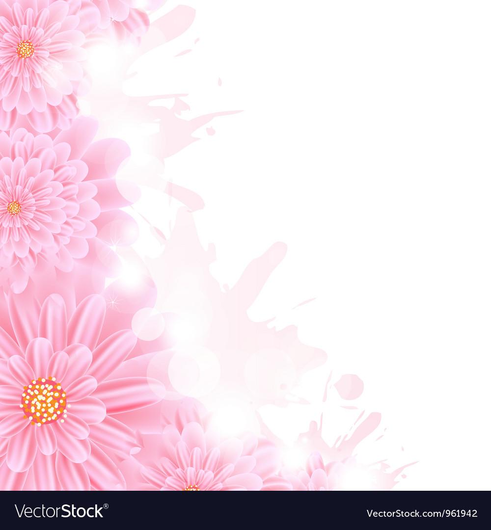 Gerber background vector | Price: 1 Credit (USD $1)