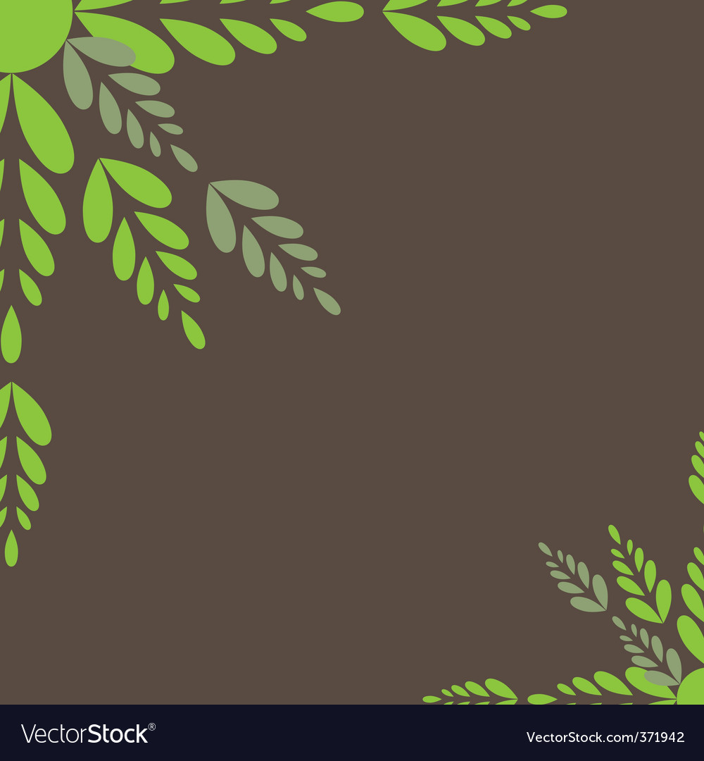 Leaves vector illustration vector | Price: 1 Credit (USD $1)