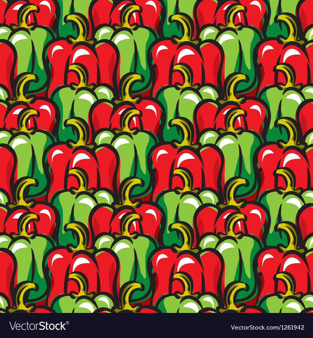 Paprika background vector | Price: 1 Credit (USD $1)