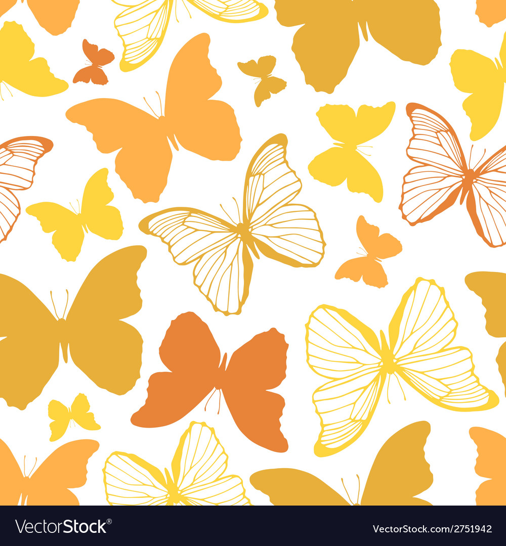 Seamless pattern with outline and silhouette vector   Price: 1 Credit (USD $1)