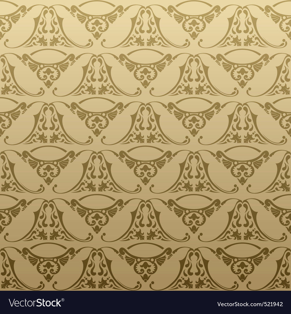 Seamless retro background pattern vector | Price: 1 Credit (USD $1)