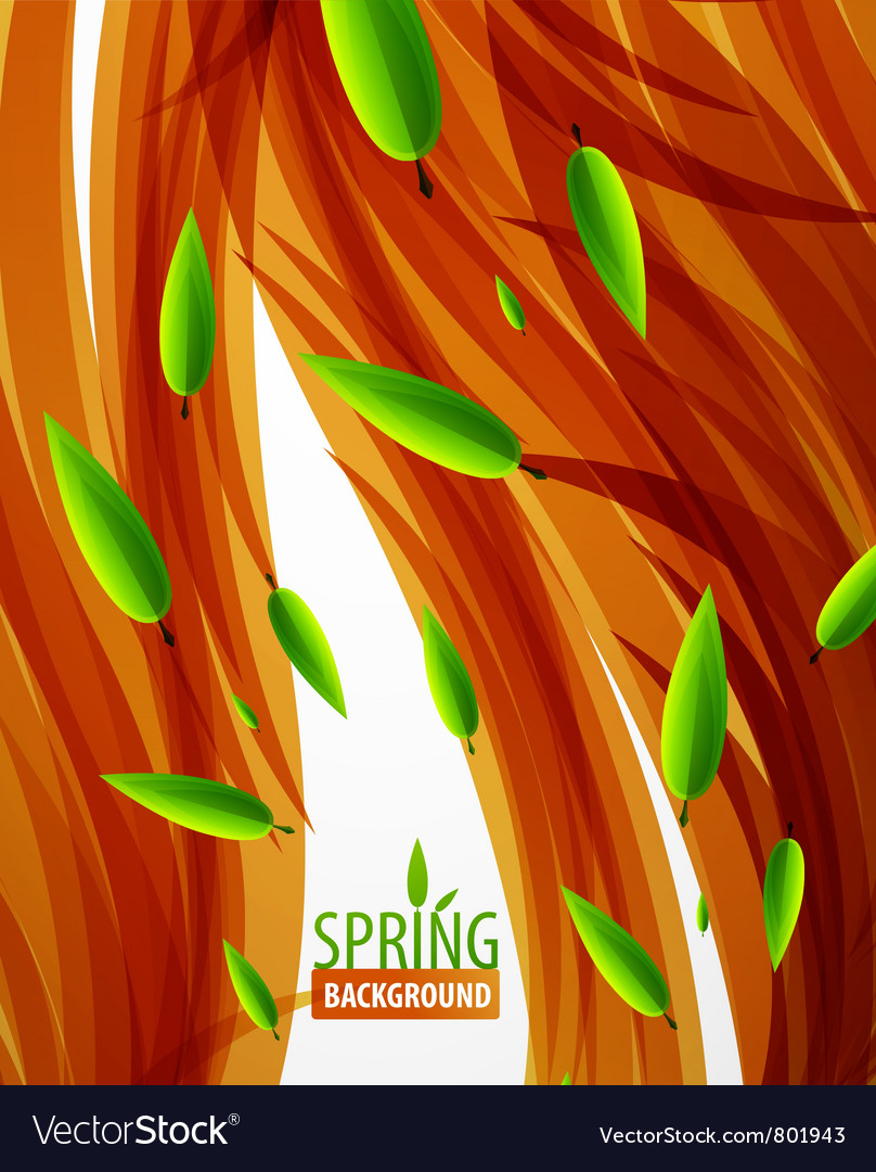 Nature abstract background vector | Price: 1 Credit (USD $1)