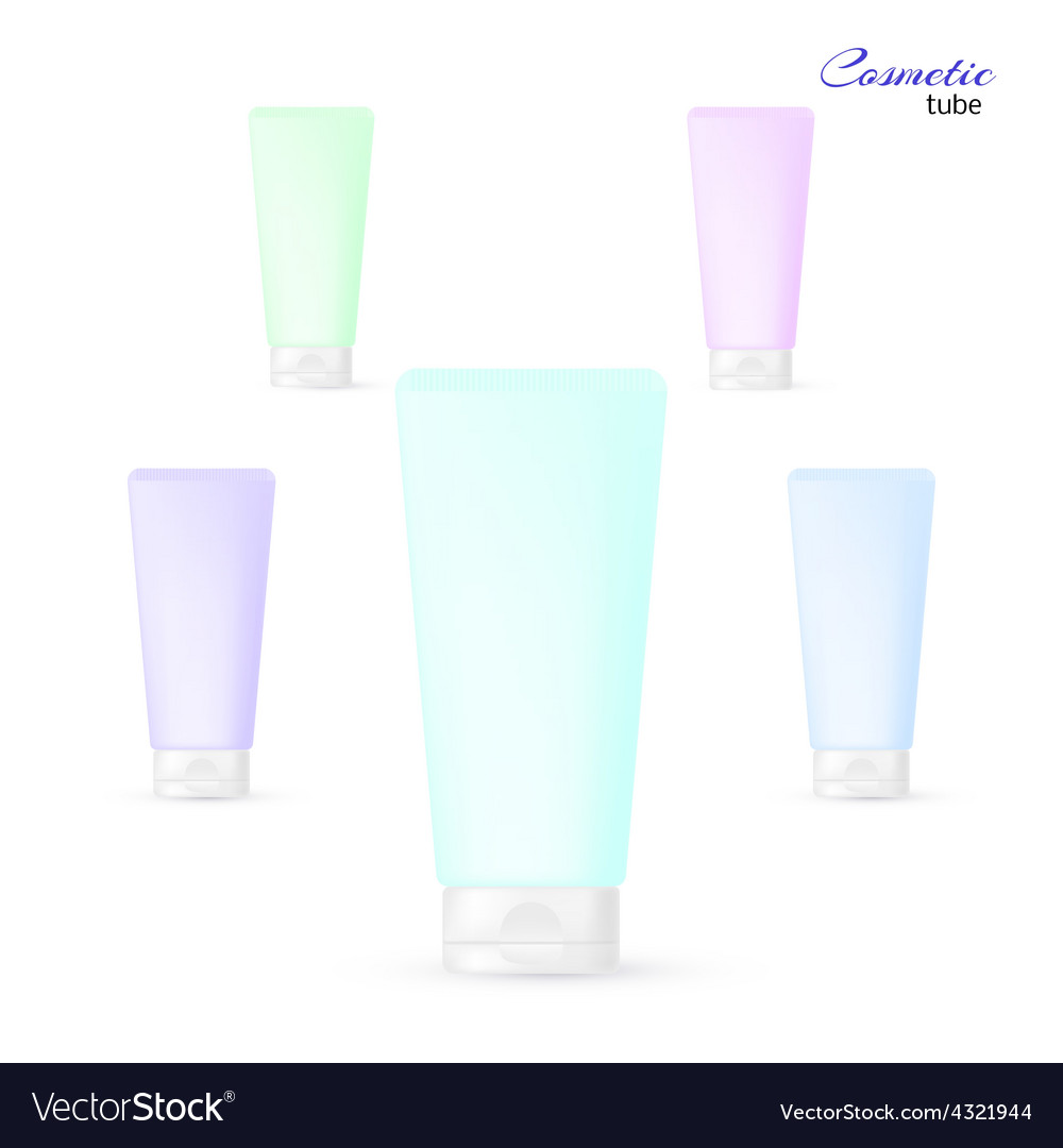 Cosmetic tube vector | Price: 1 Credit (USD $1)