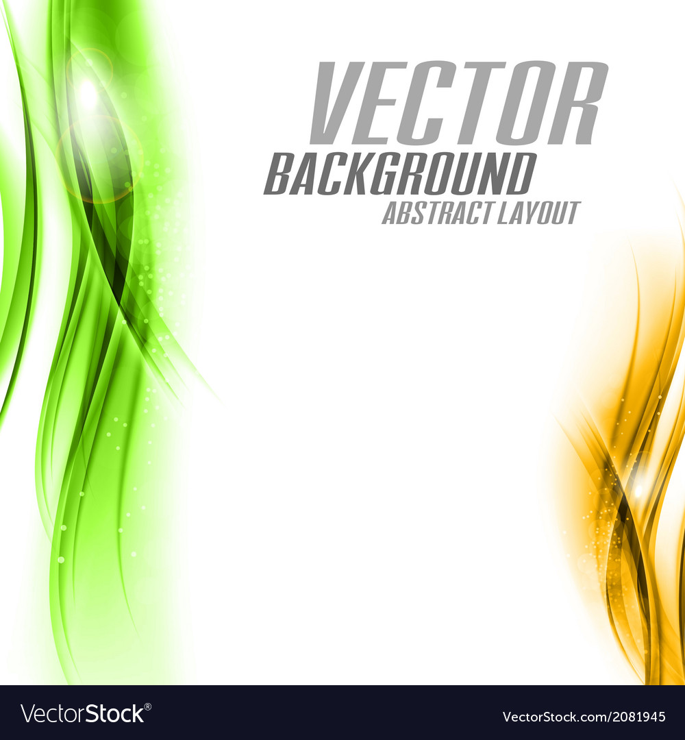 Background orange green sided vector | Price: 1 Credit (USD $1)