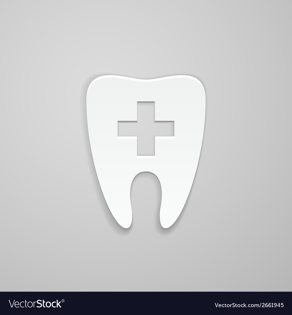 Symbol stomatology clinic vector | Price: 1 Credit (USD $1)