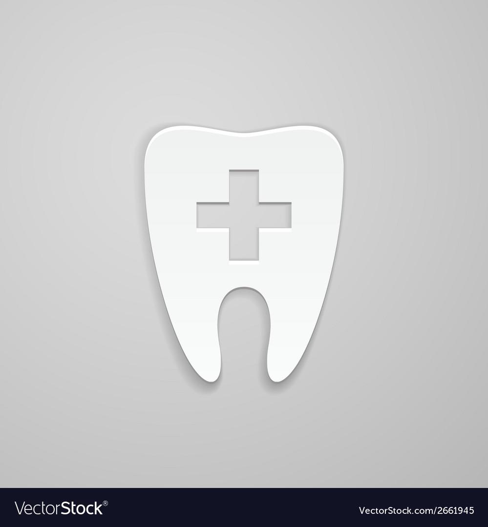 Symbol stomatology clinic vector | Price: 1 Credit (USD $1)