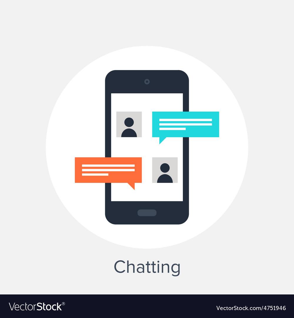 Chatting vector   Price: 1 Credit (USD $1)
