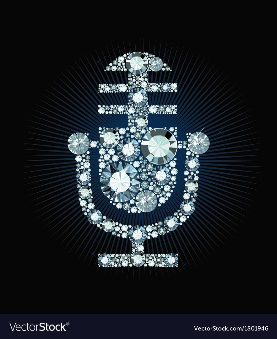 Diamond microphone vector | Price: 1 Credit (USD $1)