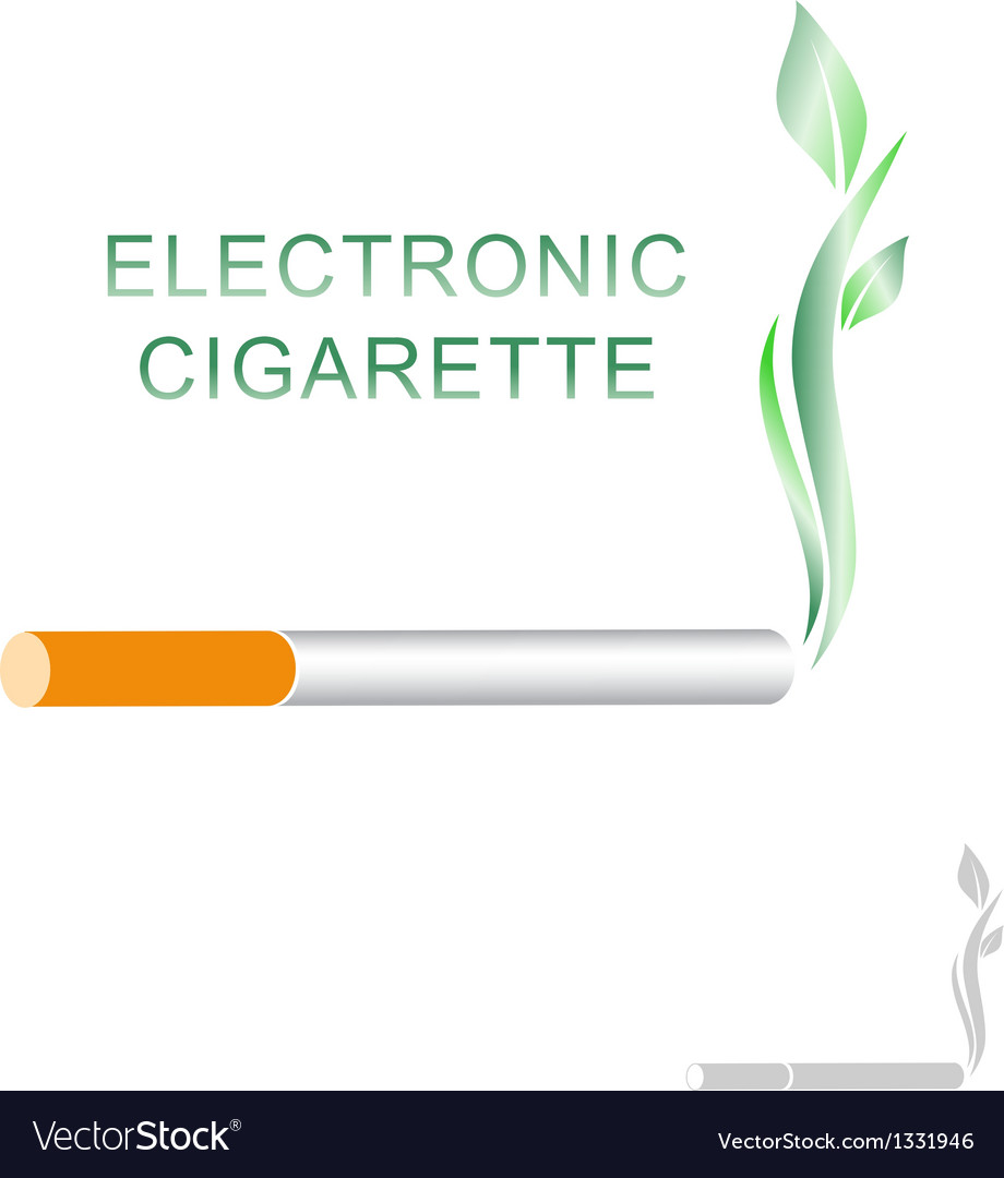 Electronic cigarette vector | Price: 1 Credit (USD $1)