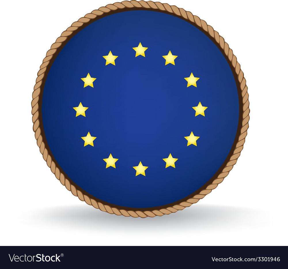 European union seal vector | Price: 1 Credit (USD $1)