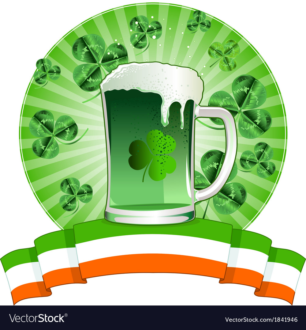 Happy st patricks day vector | Price: 1 Credit (USD $1)