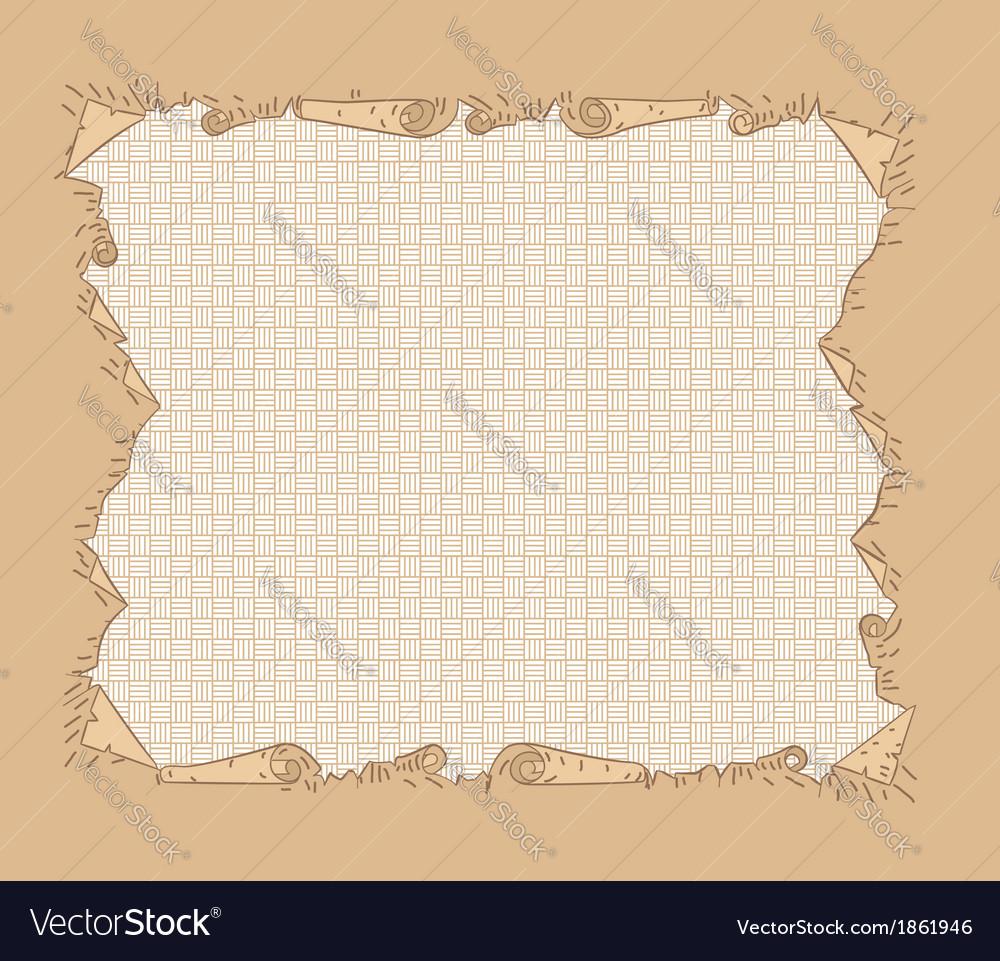 Paper frame vector | Price: 1 Credit (USD $1)