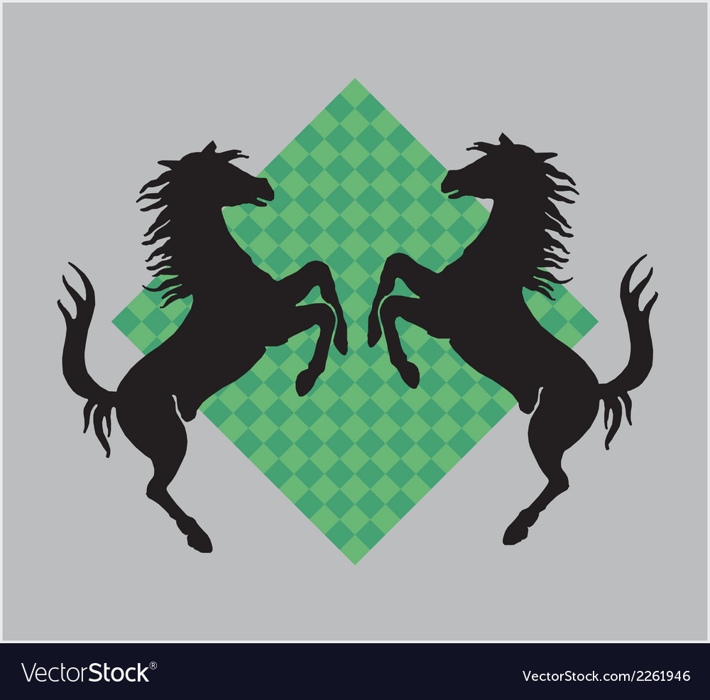 War horse vector | Price: 1 Credit (USD $1)