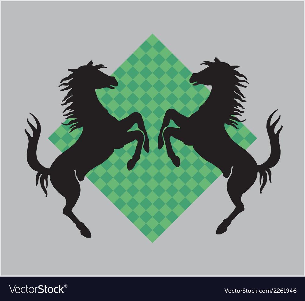 War horse vector | Price: 1 Credit (USD $1)