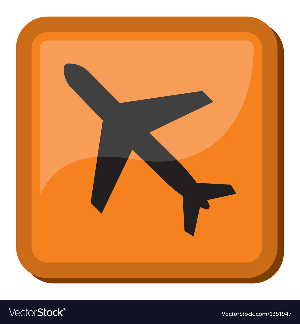 Airport sign vector | Price: 1 Credit (USD $1)
