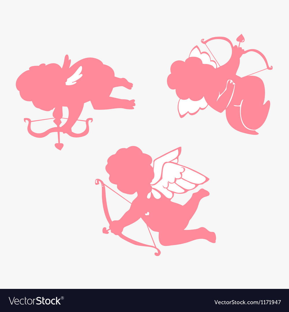 Cupid simple vector