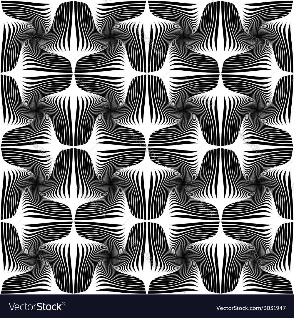 Design seamless striped geometric pattern vector | Price: 1 Credit (USD $1)