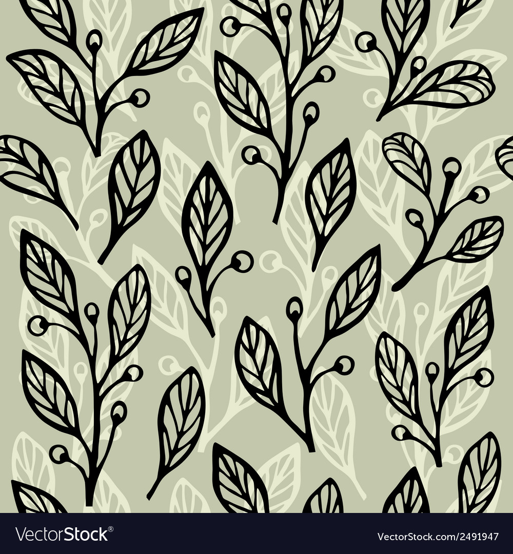 Floral seamless pattern 2 vector | Price: 1 Credit (USD $1)