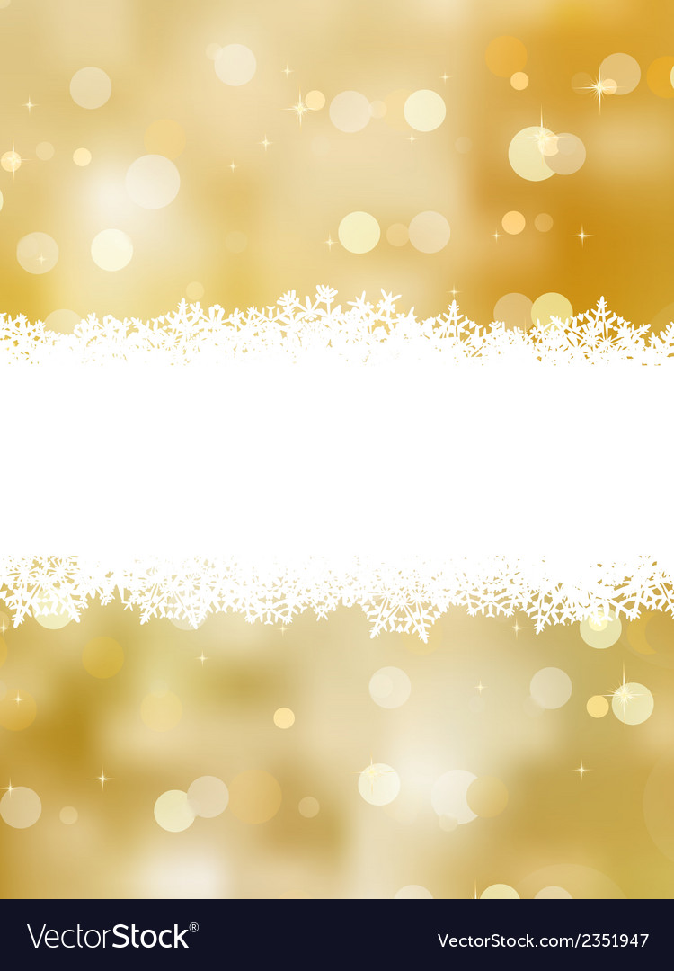 Gold christmas background with copy space eps 8 vector | Price: 1 Credit (USD $1)