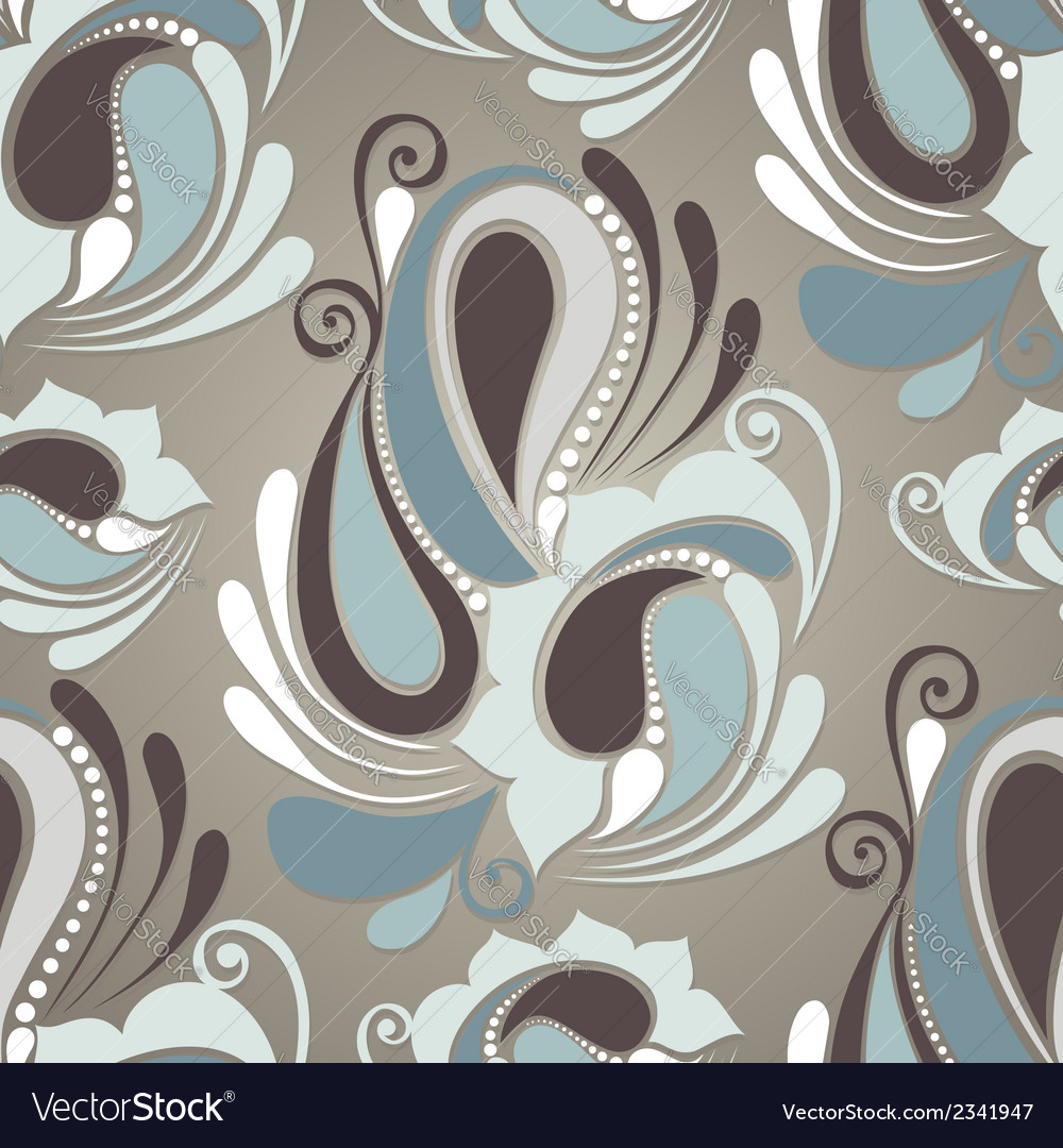 Seamless ornate pattern vector | Price: 1 Credit (USD $1)
