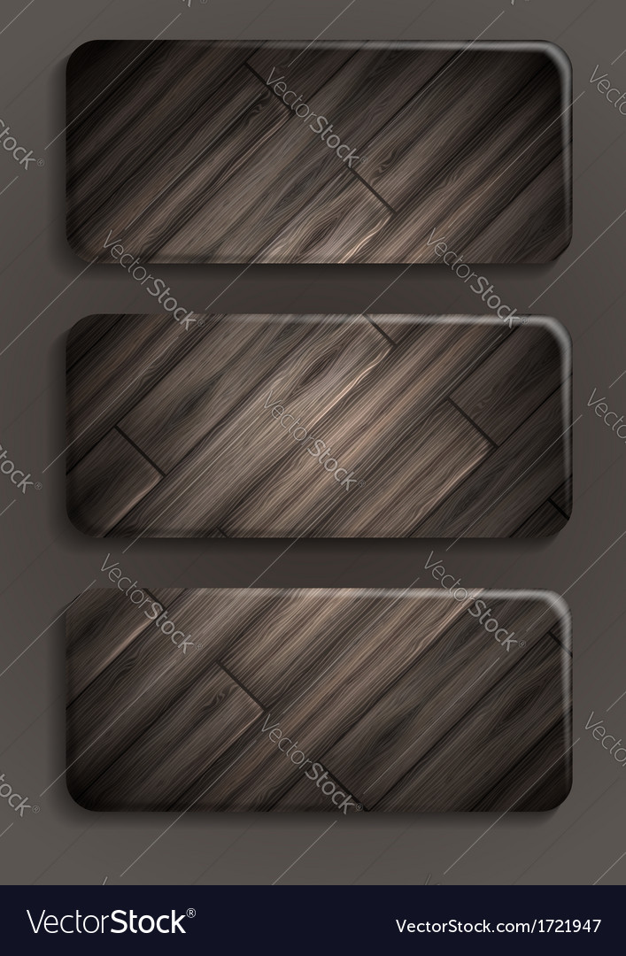 Wooden texture banner vector   Price: 1 Credit (USD $1)