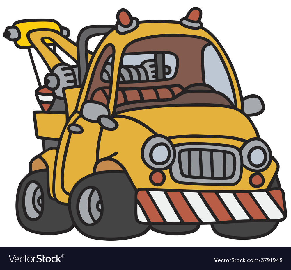 Breakdown service vehicle vector | Price: 1 Credit (USD $1)
