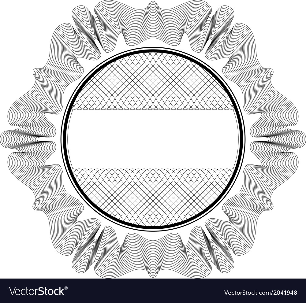 Guilloche rosette vector | Price: 1 Credit (USD $1)