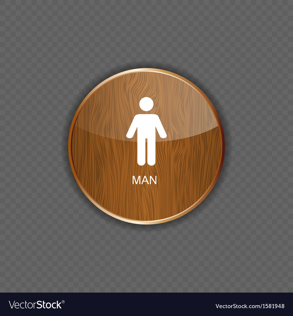 Man application icons vector | Price: 1 Credit (USD $1)