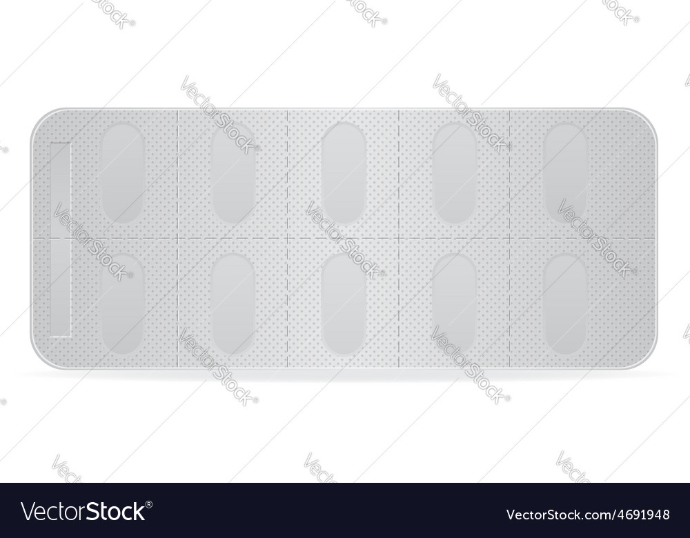 Pill in package 06 vector | Price: 1 Credit (USD $1)