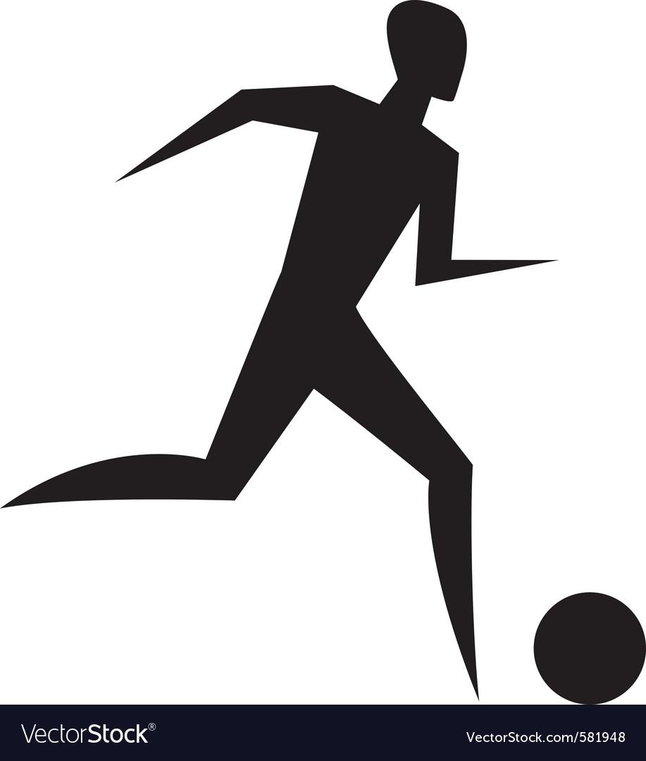 Running man sport sign vector   Price: 1 Credit (USD $1)