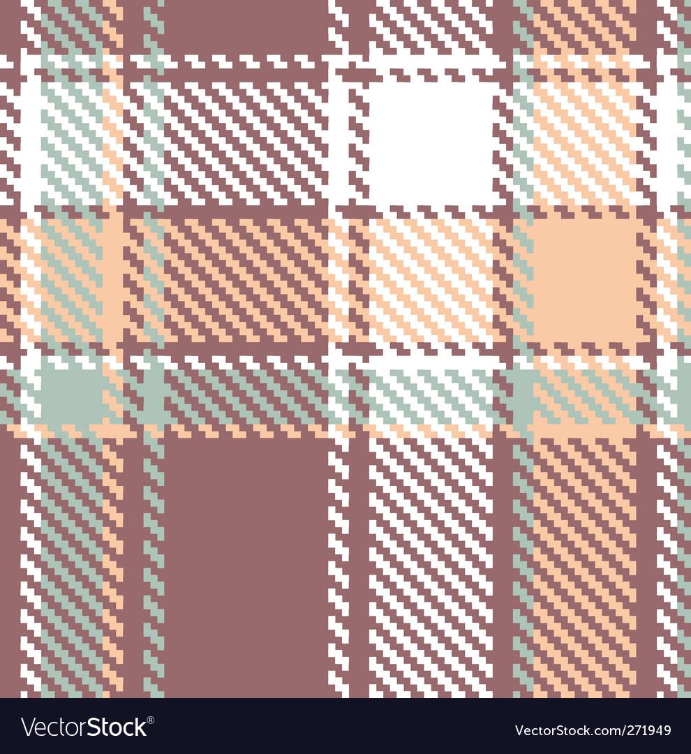 Seamless textured tartan plaid pattern vector   Price: 1 Credit (USD $1)