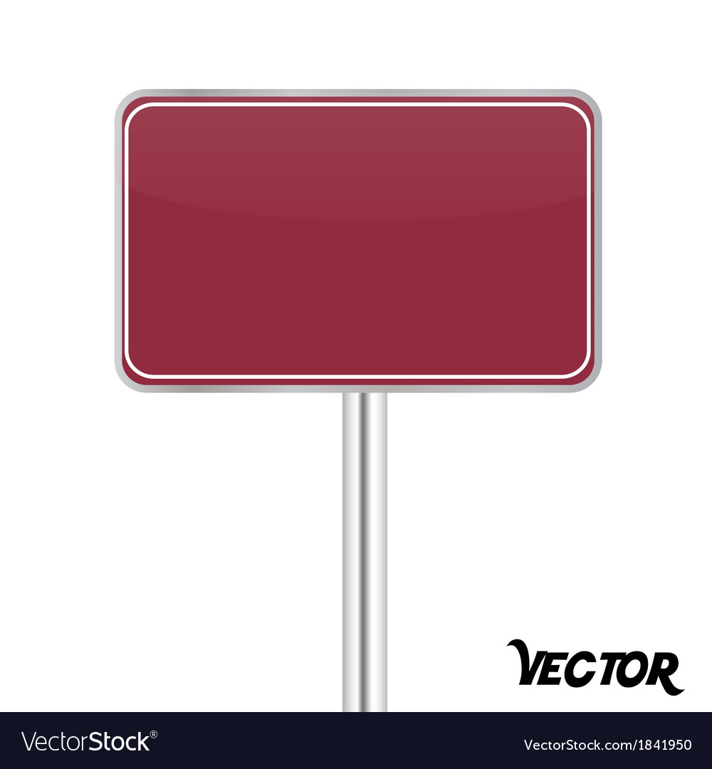 Board sign vector | Price: 1 Credit (USD $1)