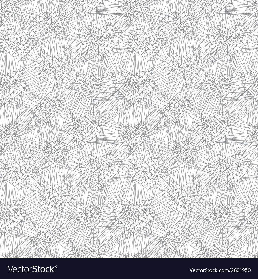 Hand drawn doodle seamless pattern of hearts vector | Price: 1 Credit (USD $1)