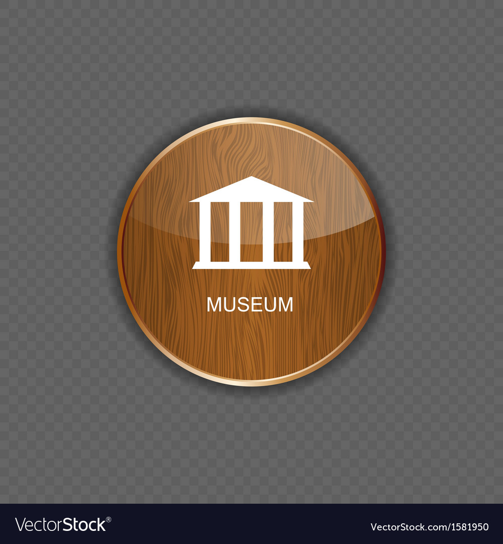 Museum application icons vector | Price: 1 Credit (USD $1)