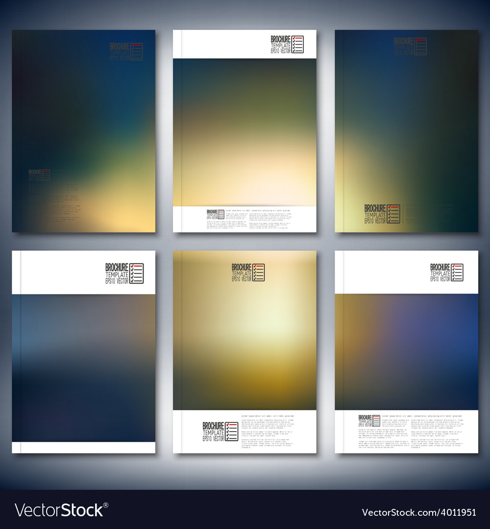 Abstract blurred background brochure flyer or vector | Price: 1 Credit (USD $1)