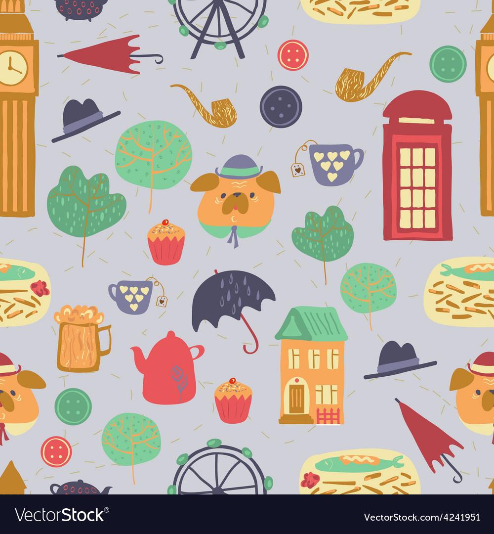 London pattern vector | Price: 1 Credit (USD $1)