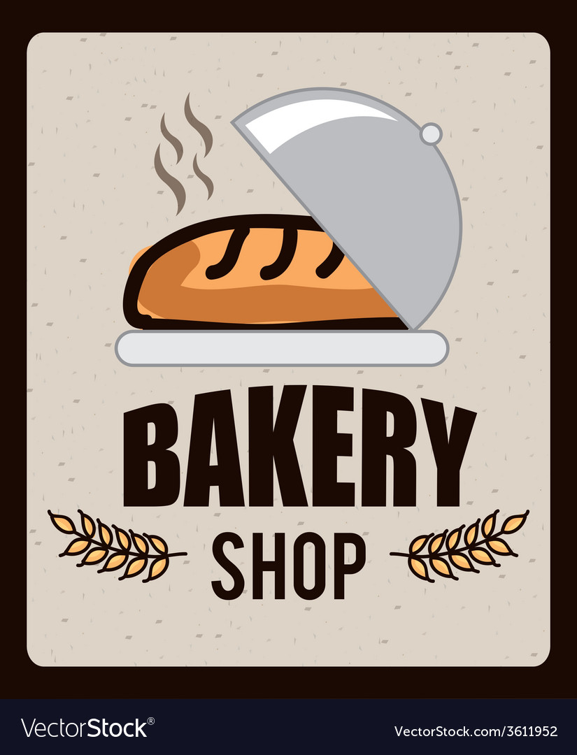 Bakery icon vector | Price: 1 Credit (USD $1)