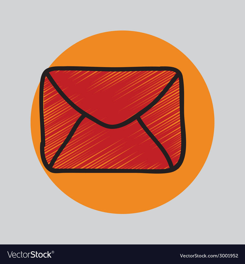 Envelope design vector | Price: 1 Credit (USD $1)