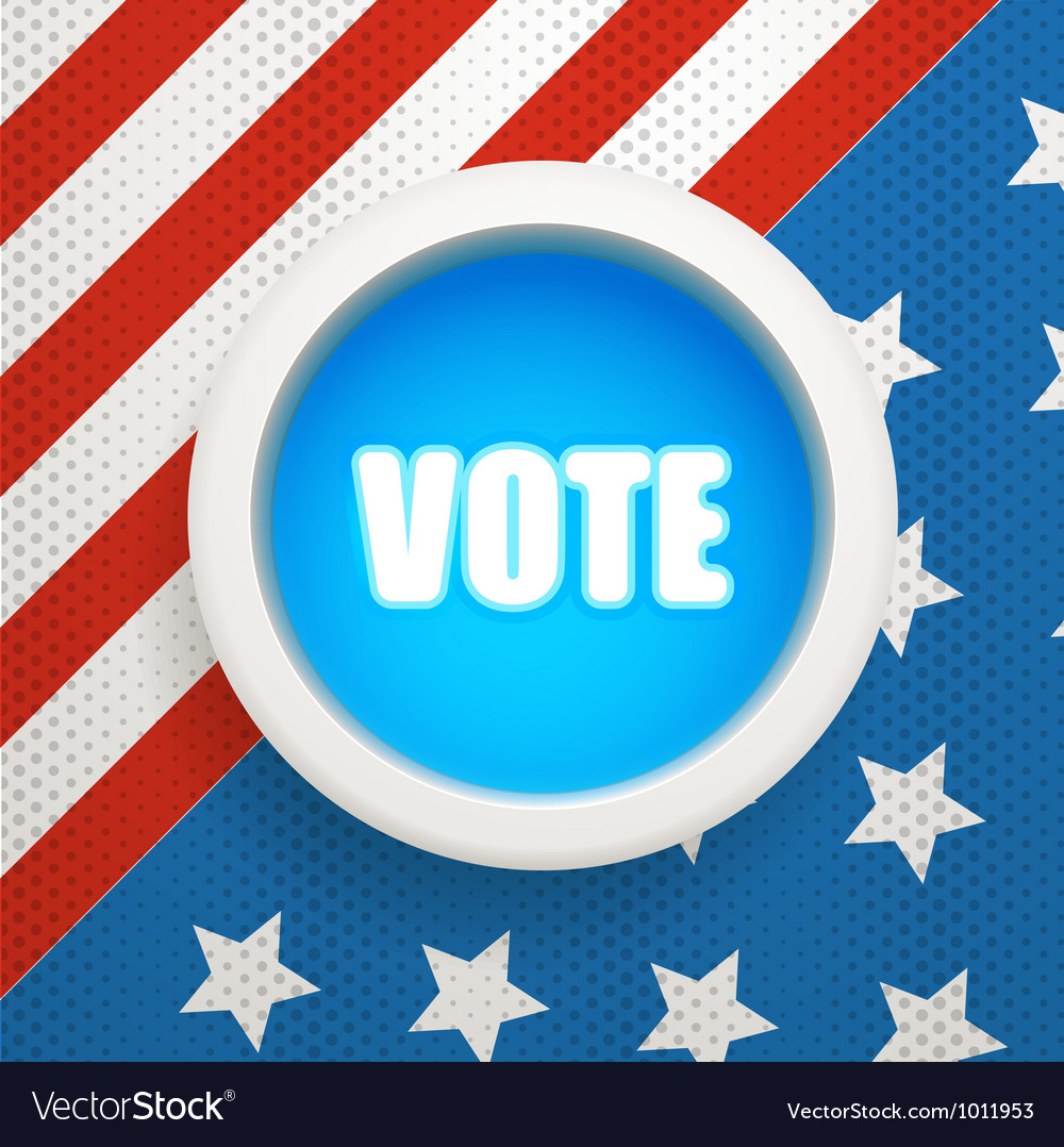 Composition for the ellection day vector | Price: 1 Credit (USD $1)
