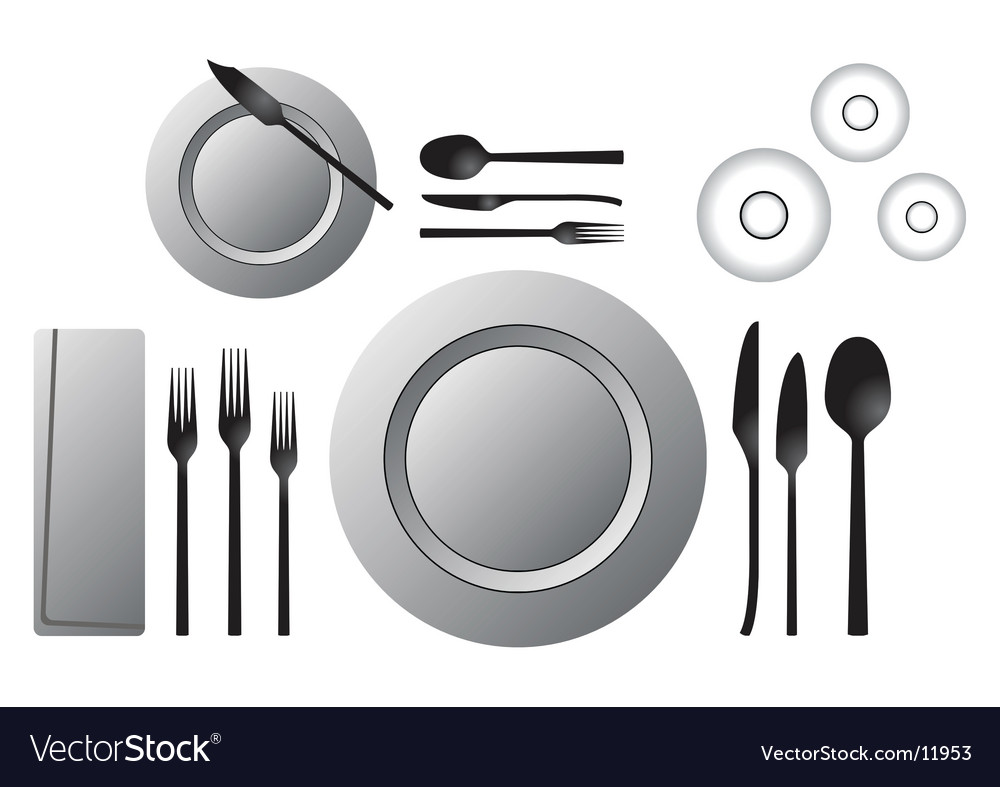 Formal table vector | Price: 1 Credit (USD $1)